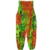 Jeannie Pants Green & Orange