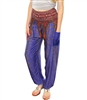 Jeannie Pants Indigo & Gold