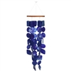 Deep Blue Sea Capiz Shell Chime