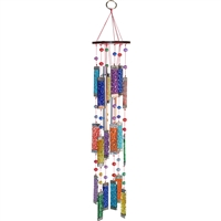 Multi-Color Glass Suncatcher