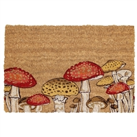 Toadstools Door Mat