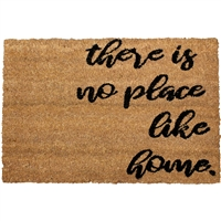 There's No Place Like Om Door Mat