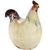 Nesting Chicken Ceramic Statue