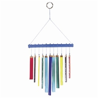 Stained Glass Rainbow Chime