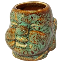 Happy Buddha Mini Ceramic Cup