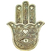 Hamsa Incense Wall Plaque