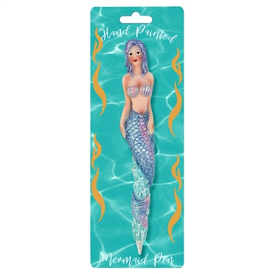 Mermaid Salacia Pen on Hang Card