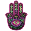 Purple & Pink Hamsa Incense Holder