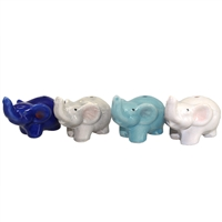 Baby Elephant Stick Incense Hldr Ceramic Asst 2Dz