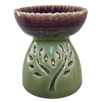Tree of Life Oil Burner Green