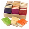 Embossed Leather Mini Journals