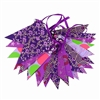 Paper Flag Bunting Royal Glitter