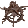 Ships Wheel & Octopus Wall Decor