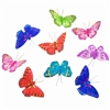 Royal Rainbow Glitter Butterfly Garland