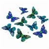 Midnight Glitter Butterfly Garland