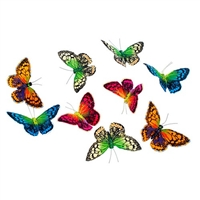 Butterfly Garland Colorful Royals