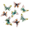Royal Butterfly Fantasy Paper Garland 8Pc