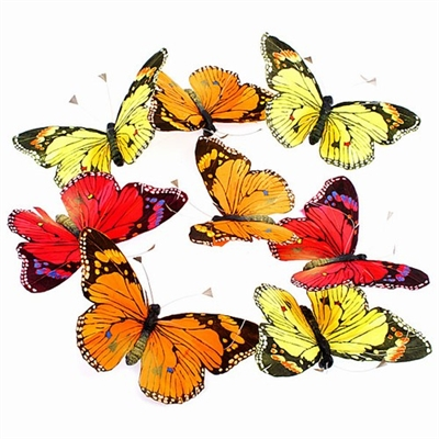 Butterfly Garland Monarchs