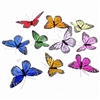 Rainbow Monarch Butterfly Garland