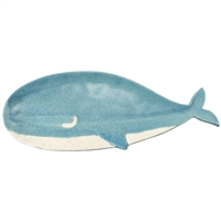 Eunice the Whale Ceramic Plate