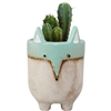 Felicia Fox Ceramic Pot