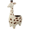 Jaxon Giraffe Ceramic Pot