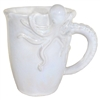 Baby Octopus Mug White Iridescent