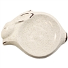 Running Rabbit Dish Ceramic Ecru