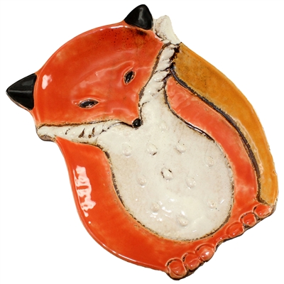 Fiona Fox Ceramic Plate