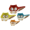 Nesting Owls Ceramic Measuring Cups 4pc set