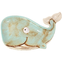 Wendelin the Whale Ceramic Plate