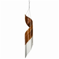 Coconut Calyx Spiral Tube Chimes