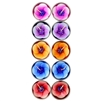 Plumeria Tea Light Candle Asst 10pc Pack 1Dz