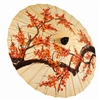 Orange Blossoms Paper Parasol