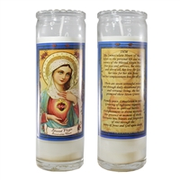 Mary of 7 Graces Candle Jar