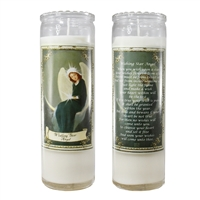 Wishing Star Angel Candle Jar