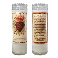 Wounded Heart Candle Jar