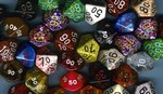 10 - 10s Sided Dice Grab Bag