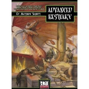 Advanced Bestiary (Dungeons & Dragons d20 3.5 Fantasy Roleplaying)