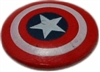 Captain America's Shield 3D Object