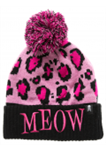 Sourpuss Meow Knit Hat Pom Toque