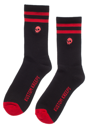 Sourpuss Guys Skull Socks