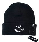 Sourpuss Luna Bats Knit Hat Beanie Toque