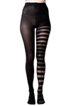 KILLSTAR Libra Tights [Black/Sheer]