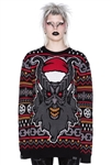 KILLSTAR Hail Santa Knit Sweater