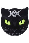 Alchemy Gothic - Cat-shape Triple Moon Cat Coaster