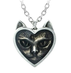Alchemy Gothic Love Cat Pendant
