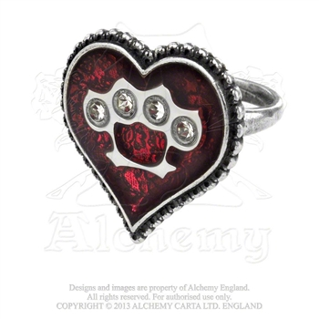 Alchemy Gothic Tough Love Ring