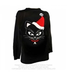 Alchemy Gothic - Santa Reaper Christmas Jumper Sweater