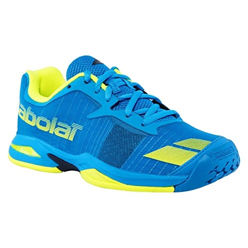 All Court Junior Tennis Shoes Blue/Yellow